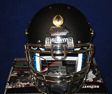 ALABAMA MATTE BLACK National Championship FULL SIZE REPLICA HELMET NCAA LICENSED