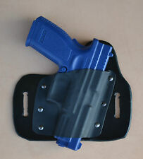 Leather/kydex hybrid OWB beltslide holster for Springfield XD/XDm 9mm/.40/.45
