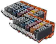 12 Ink Cartridges For Canon Pixma Printers PGI-520 CLI-521 MP980 MP990 MX860