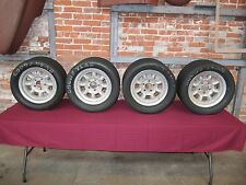 Original UK Minilite TransAm Wheels 14 x 7 Date Stamped 367 (1967)