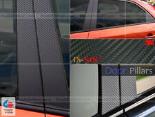 DI-NOC CARBON FIBER DOOR PILLARS FOR NISSAN JUKE 11 12 13 14 15 16 POST TRIM SET