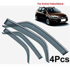 FOR 07ON SUZUKI SX4 HATCH WINDOW DOOR VENT SHADE VISOR WIND DEFLECTOR RAIN GUARD