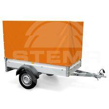 STEMA 100cm Hochplane Plane  für Anhänger F 750 DBL 850 orange 1m 100cm+ OPTI AN