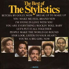 """12"""" Stylistics The Best Of (Let`s Put It All Together) 70`s Ariola AVCO"""