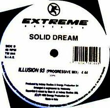 "12"" - Solid Dream - Illusion 93 (EURO TECHNO)"