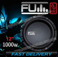 "Fli Underground FU12 1000 Watts 12"" inch Single Car Bass Sub Subwoofer"