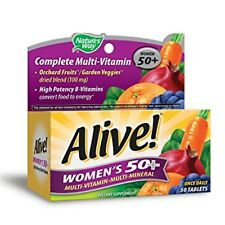 Alive! Nature's Way Once Daily Women's 50+ High Potency Multivitamin 50 ea (2pk)