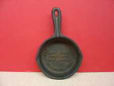 Medina, Oh SAM LEGG'S AUCTION FURNITURE & APPLIANCES Mini Iron Skillet Ashtray