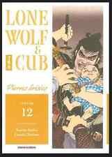manga Lone Wolf & Cub Tome 12 Kazuo Koike Kojima Seinen Panini Rare And TBE VF