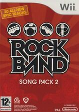Wii Spiel Rockband Rock Band Song Pack 2 II Neu