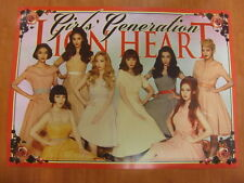 SNSD GIRLS' GENERATION - Lion Heart [OFFICIAL] POSTER K-POP *NEW*