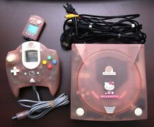 Sega Dreamcast Hello Kitty Pink Console Japan import system DC US Seller