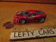 Hot Wheels Red 2009 Ferrari F-430 Challenge 1:64 scale (Mystery Car) LOOSE!