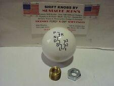 Hurst Auto Stick One, His/Her's, V-Gate  Shift Knob, (white)