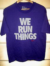 NIKE RUNNING SOFT COTTON T-SHIRT WE RUN THINGS- FULL FRONT LOGO- NICE! - M/L