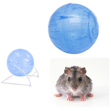 New Colorful Run-About Exercise Hamster Mouse Ball Clear Rate Toy 14.5cm Plastic
