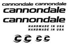 Cannondale Bicicleta de carretera de montaña calcomanías marco pegatinas
