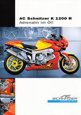 BMW - K 1200 R - AC Schnitzer - Prospekt - 2006 - Deutsch - nl-Versandhandel