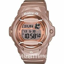 -NEW- Casio Baby-G Pink/Champagne Watch BG169G-4