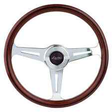 CLASSIC SPORT VINTAGE WOODEN STEERING WHEEL 390mm LUISI 390 MAHOGANY NARDI STYLE