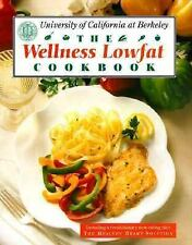 The Wellness Low-Fat Cookbook U.C. Berkeley Hardcover Eating Plan Healthy Heart