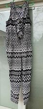 Womens Plus Jumpsuit 2X Toxik3 Jumper Romper Multi Tribal SOUTHWEST Catsuit