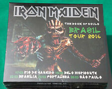 Iron Maiden - The Book of Souls BRAZIL ONLY 2CD SPLICASE Sealed TOUR ED 2016