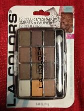 L.A. COLORS 12 COLOR EYESHADOW EYE SHADOW IN BEP421 TRADITIONAL