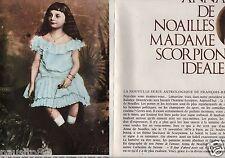 Coupure de presse Clipping 1964 Anna de Noailles  (4 pages)