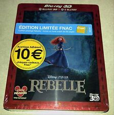 New DIsney Brave 3D+2D Blu-ray Steelbook™ FNAC Exclusive France OOP