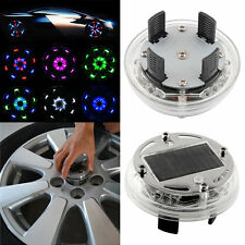 4 Mode 12 LED Fashion Car Auto Solar Energy Flash Wheel Light Lamp Decoration
