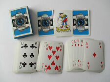 VINTAGE MINOLTA CAMERA ADVERTISING PLAYING CARDS