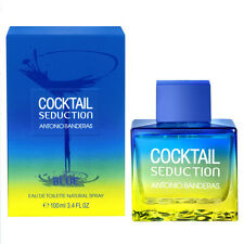 Cocktail Seduction Blue by Antonio Banderas 3.4 oz 3.3 for Men edt New In Box