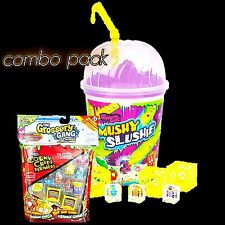 GROSSERY GANG MUSHY SLUSHIE CUP + 10-Pack Collectable Grosseries Combo Pack