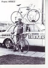 CYCLISME carte FRANS ASSEZ  (equipe flandria ca va seul )  1979