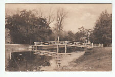 The Drawbridge Ditton Park Bucks Berks Pre 1918 Old Postcard Postally Unused