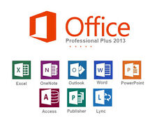 LICENZA/LICENSE MICROSOFT Office Professional Plus 2013 1 key =  5 computers
