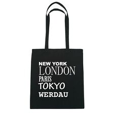 New York, London, Parigi, Tokyo WERDAU - Borsa Di Iuta Borsa - Colore: nero