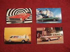 NOS 1966 Ford Thunderbird Falcon Fairlane GT Post Card lot N.O.S New Old Stock