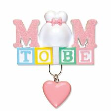 Personalized Christmas Ornament Mom To Be Pregnant Mom Expecting Parent - Gift