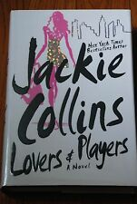 "SIGNED ""Lovers and Players"" by Jackie Collins New 1st Edition/Printing HC/DJ"