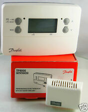Danfoss TP9000 7 Day Central Heating Timer / Programmer Controller Thermostat
