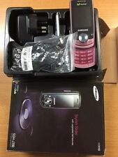 New Samsung J700 Slide Pink (Unlocked) Bluetooth FM Radio Camera Mobile Phone