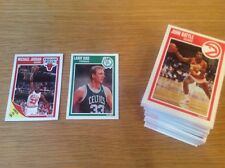 Conjunto completo de 1989 Fleer baloncesto de la NBA Trading Card Vintage Michael Jordan Magic
