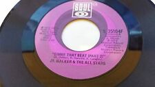 JR. WALKER & THE ALL STARS Gimme That Beat Part 1 & 2 SOUL 35104 45