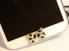 Wholesale 5 Pcs Bow Home Button Sticker For Samsung Galaxy s3,s4s,s5,Note 2,3,4