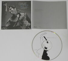 Dave Koz  Honey Dipped - U.S. promo cd hard-to-find