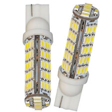 2pc 68 SMD T10LED Light Wedge 168 194 W5W Turn Corner Tail Stop Bulb White 12V #