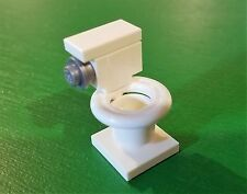 NEW Lego City/Train Minifig WHITE TOILET Gr8 4 Girl/Boy Minifigure Bathroom Loo