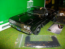 PLYMOUTH BELVEDERE GTX CONVERTIBLE au 1/18 GREENLIGHT 19007 voiture miniature